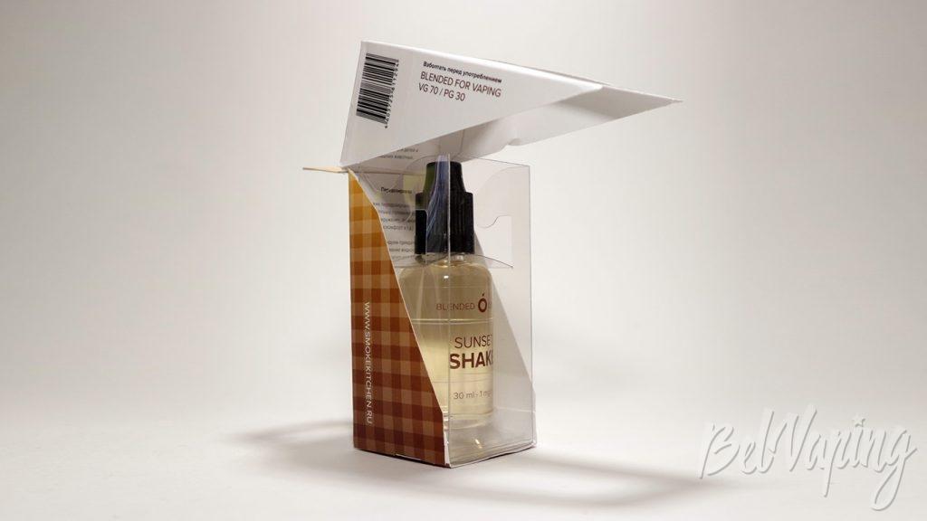 Жидкости Smoke Kitchen SHAKE - вскрытие упаковки