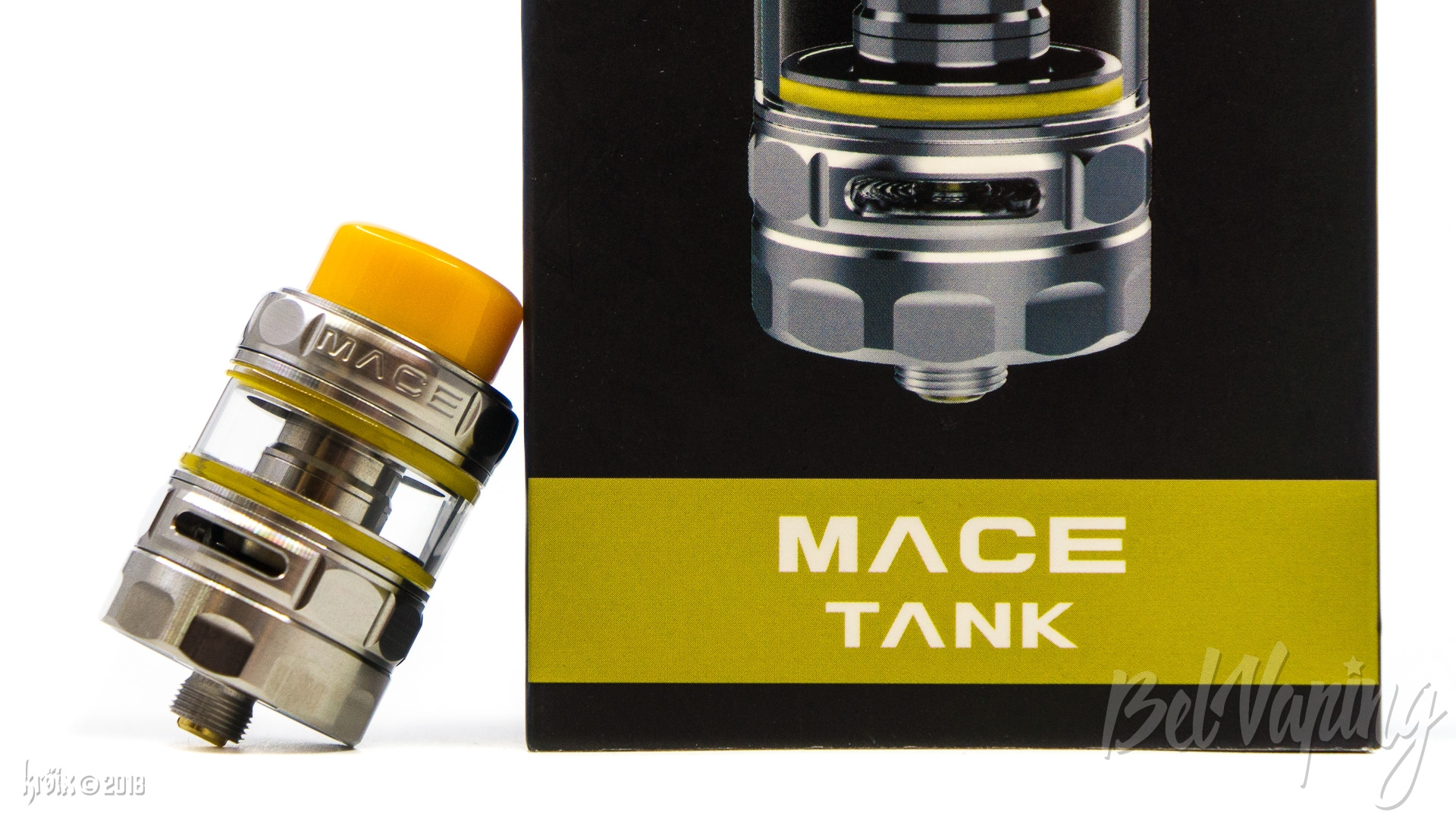 Обзор сабомного бака Ample Vape Mace Tank