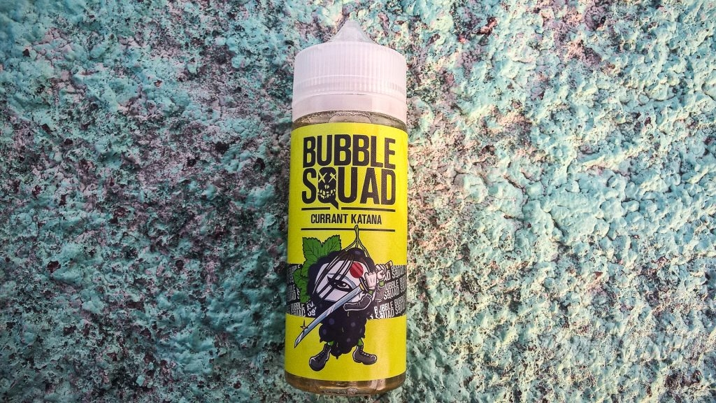 Жидкость Bubble Squad - Currant Katana