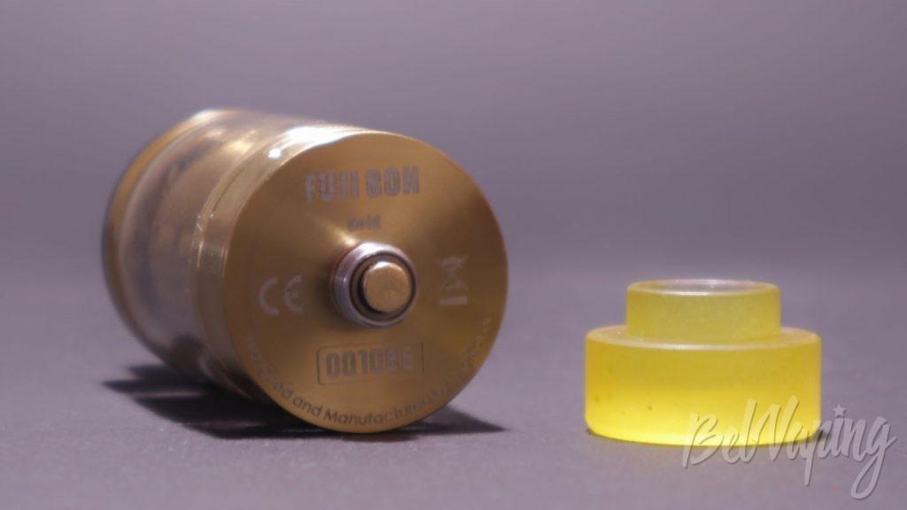 Digiflavor FUJI SON GTA - коннектор и вид с низу