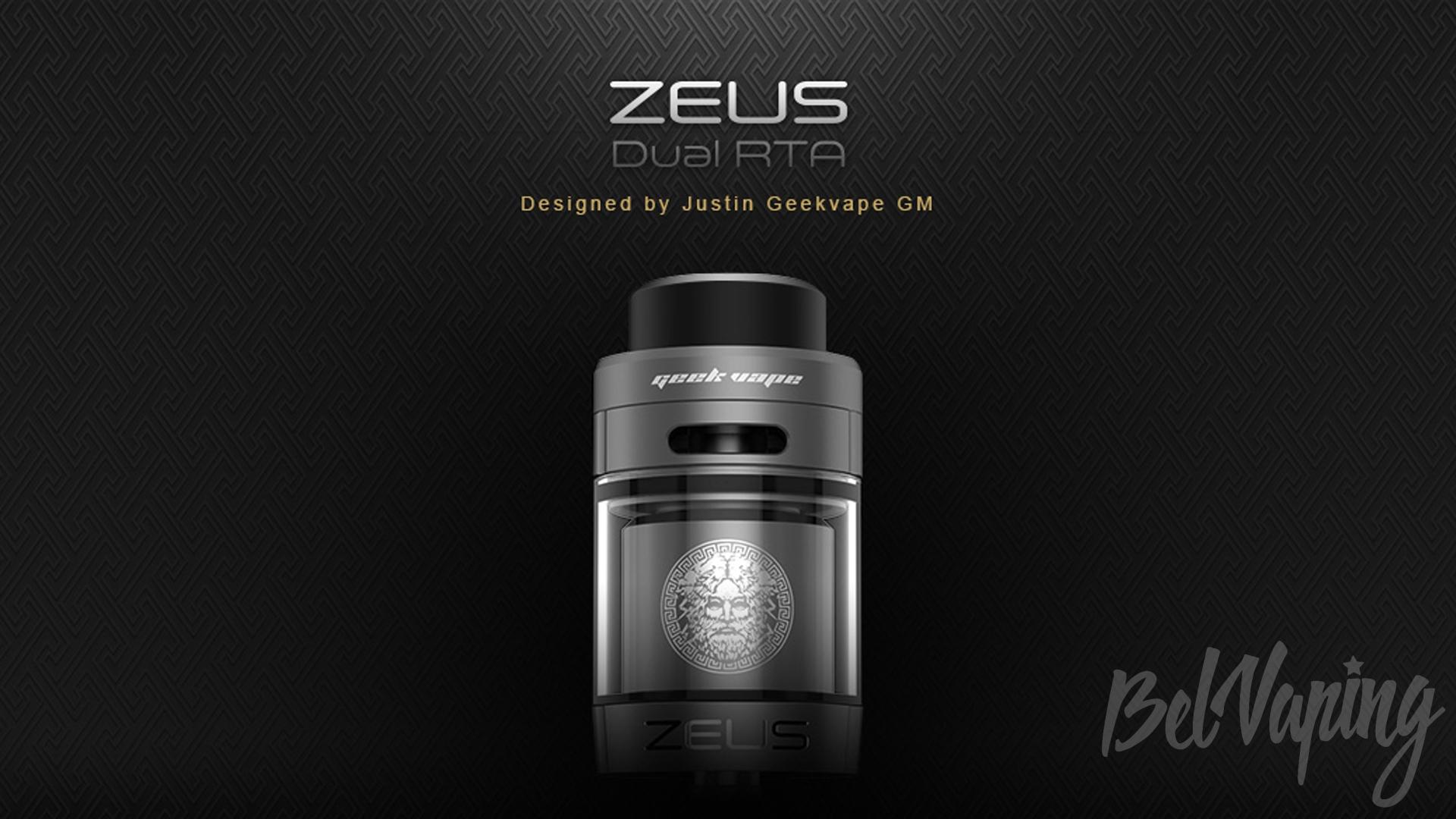 GeekVape Zeus Dual RTA. Первый взгляд