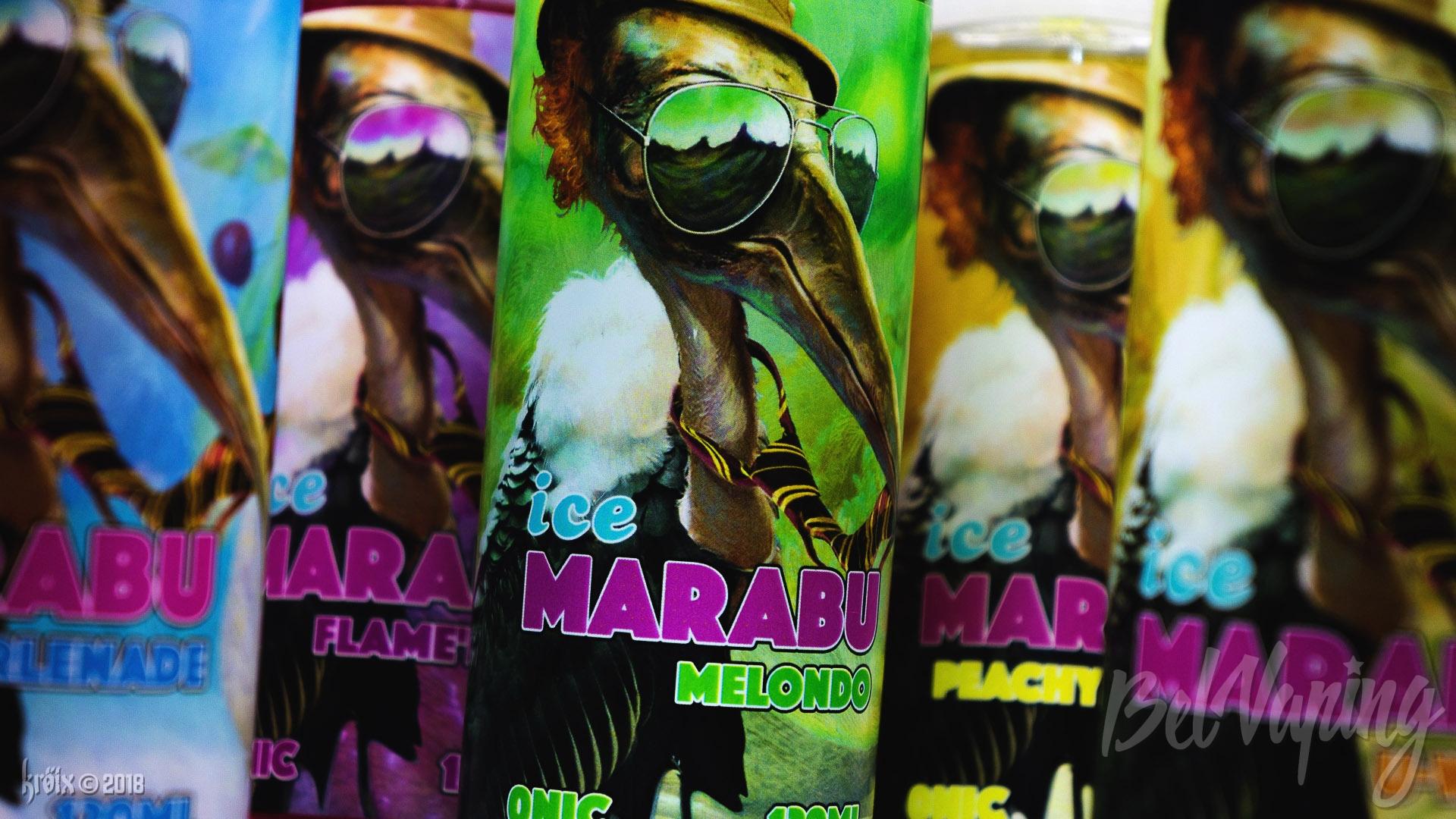 Обзор жидкости Iced Marabu