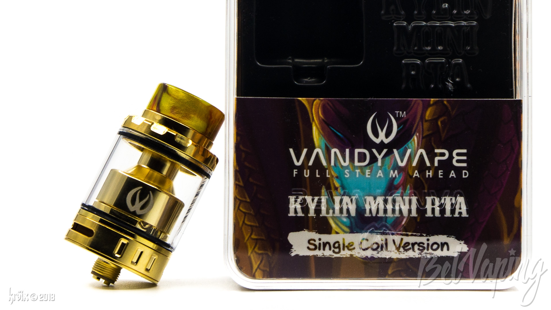Обзор бака Kylin Mini RTAот Vandy Vape