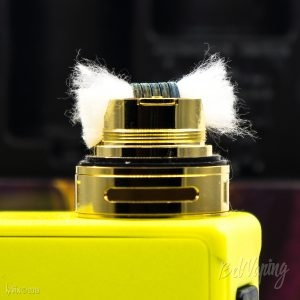 Укладка ваты в Kylin Mini RTA
