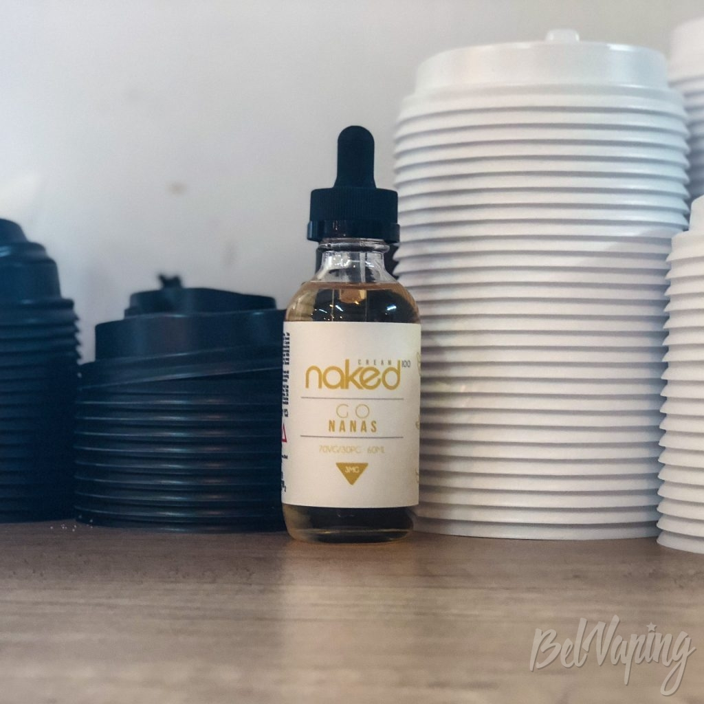 Жидкость NAKED 100 Cream - Go Nanas