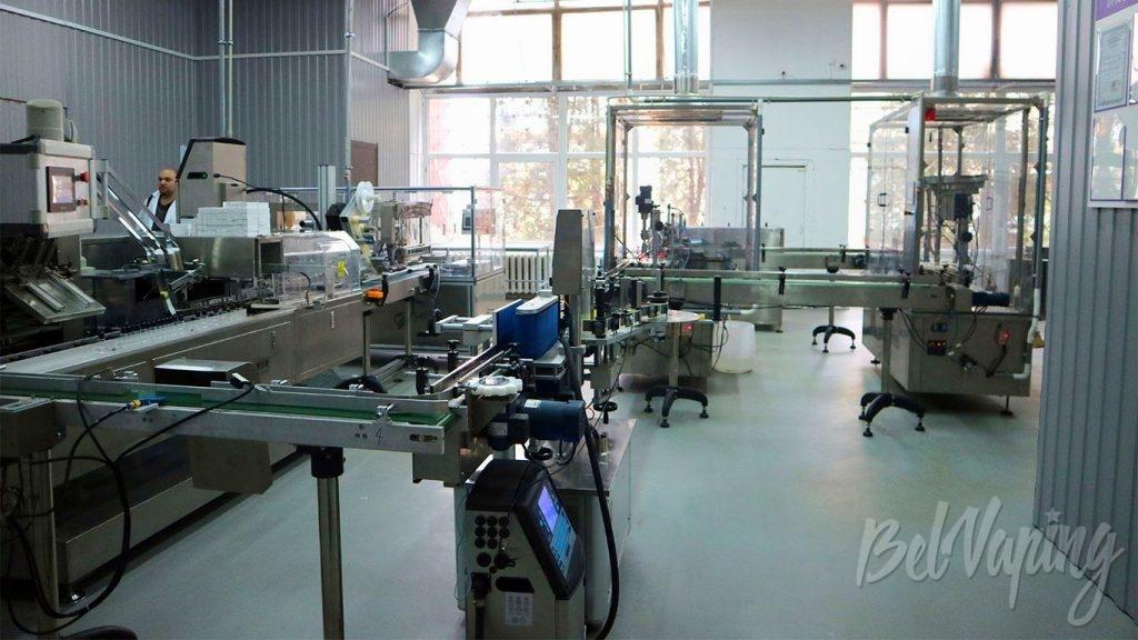 Основы VERTEX - производственная линия