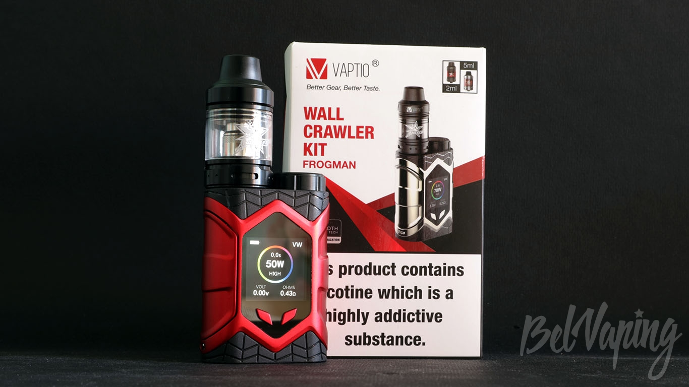 Обзор Vaptio WALL CRAWLER KIT