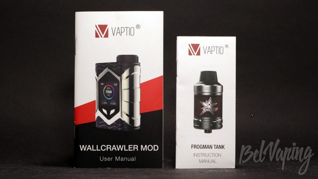 Vaptio WALL CRAWLER KIT - инструкции