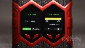 Vaptio WALL CRAWLER KIT - настройка режима термоконтроля