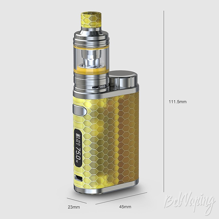 Габариты Eleaf iStick Pico RESIN with MELO 4