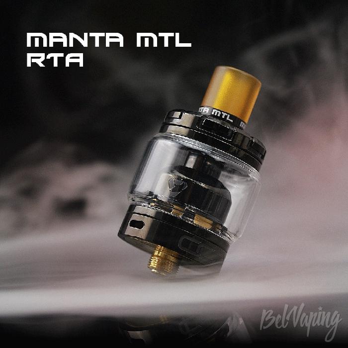 Внешний вид ADVKEN Manta MTL RTA