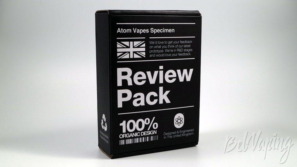 Atomvapes NJORD RDA и SANDMAN MOD - упаковка