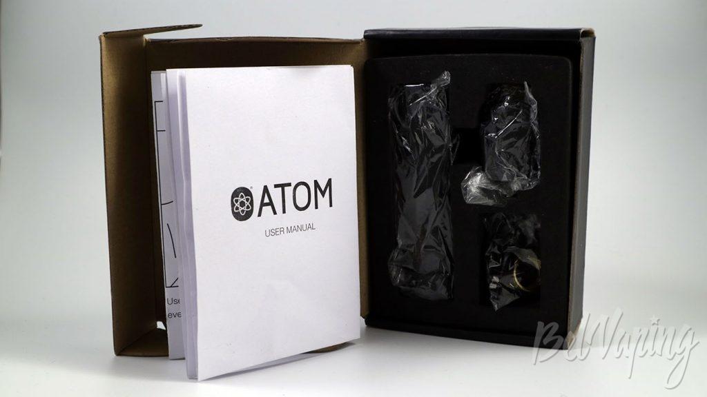 Atomvapes NJORD RDA и SANDMAN MOD - что в коробке