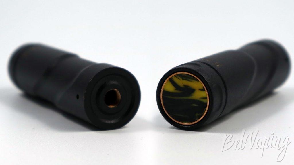 Atomvapes SANDMAN MOD - коннектор и кнопка