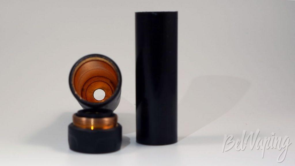 Atomvapes SANDMAN MOD - защита аккумулятора и медь