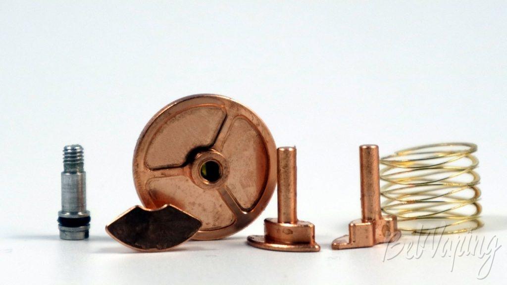 Atomvapes SANDMAN MOD - толкатели и пружина