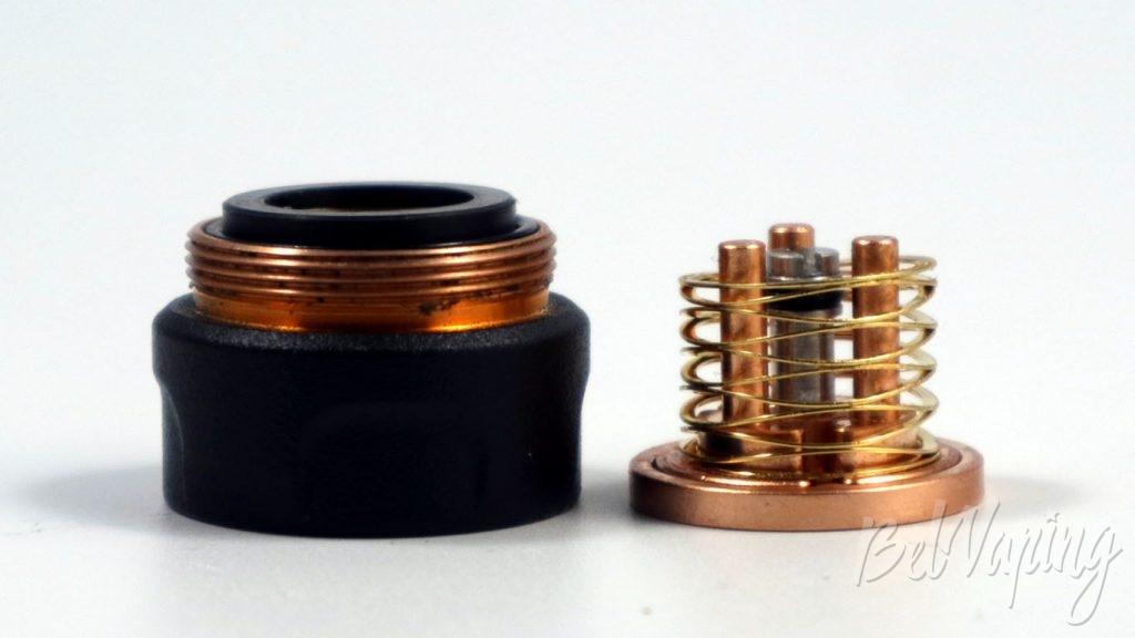 Atomvapes SANDMAN MOD - принцип работы кнопки