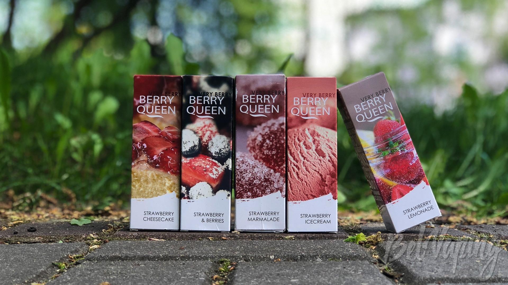 Обзор жидкости Berry Queen