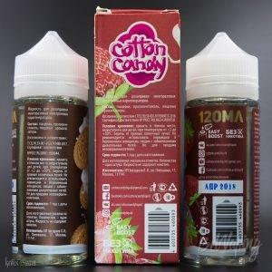 Этикетка жидкости Cotton Candy Milkshake