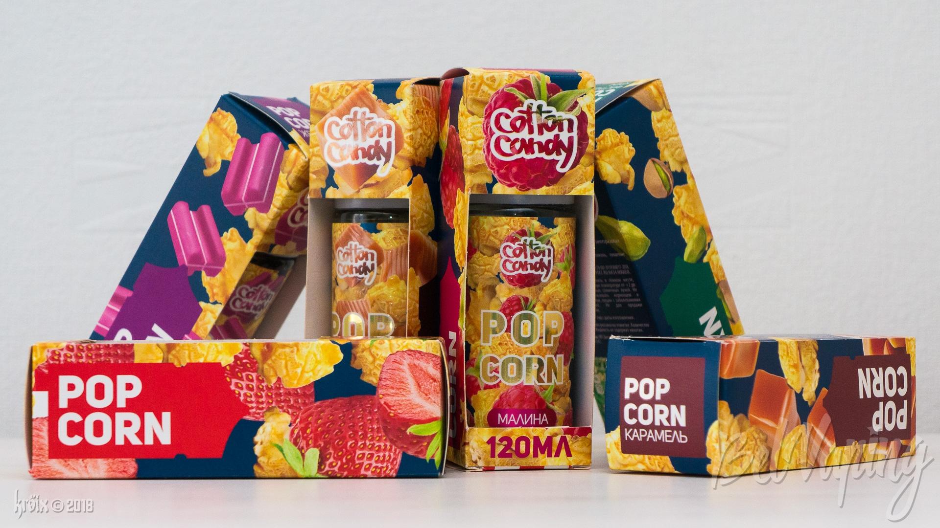 Обзор жидкости Popcorn от Cotton Candy