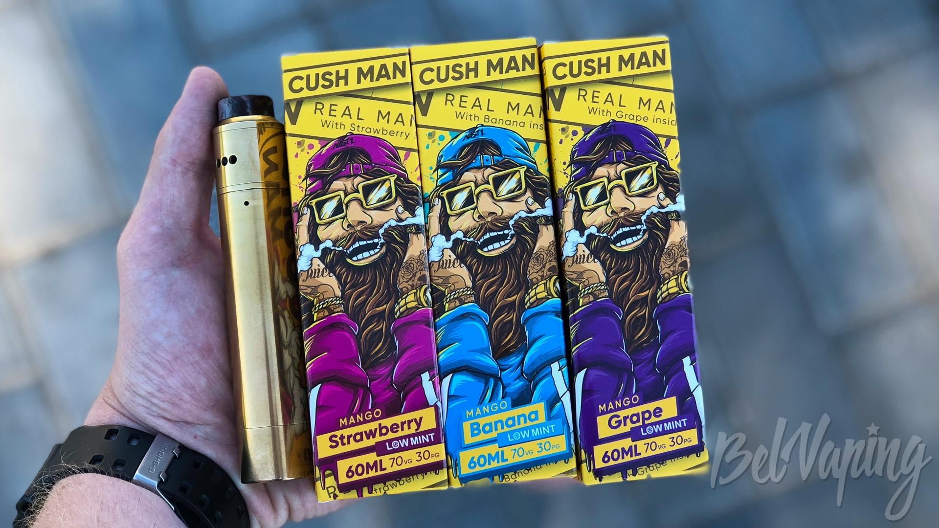 Обзор жидкости Cush Man Series от Nasty Juice