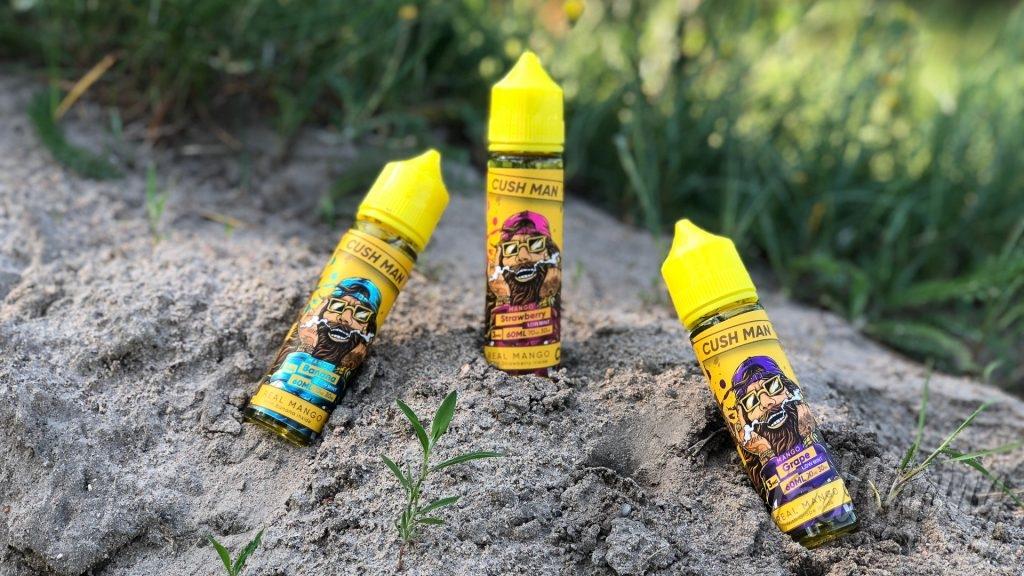Жидкости Cush Man Series от Nasty Juice