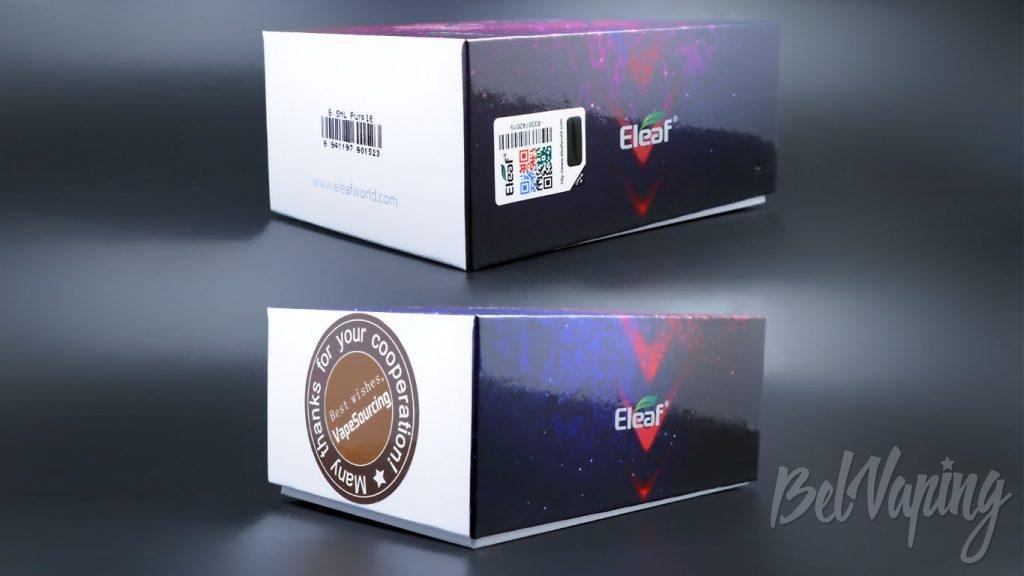 Eleaf iJust 3 и ELLO Duro Tank - упаковка