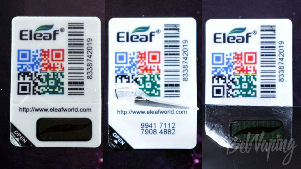 Eleaf iJust 3 и ELLO Duro Tank - проверка подлинности