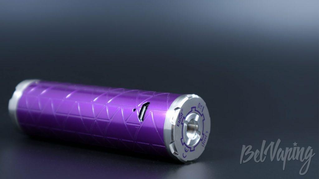 Eleaf iJust 3 - гнездо зарядки и коннектор