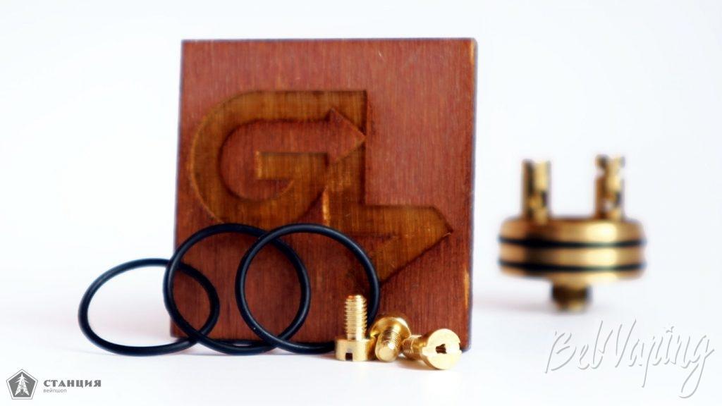 Get Low Mods GLM RDA - комплект запасных частей
