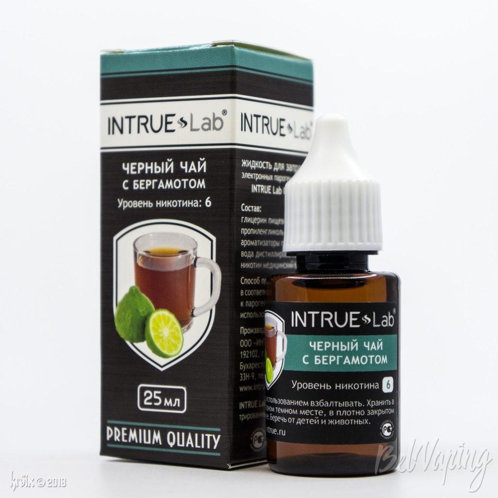 Жидкость INTRUE Lab CLASSIC - Черный чай с бергамотом