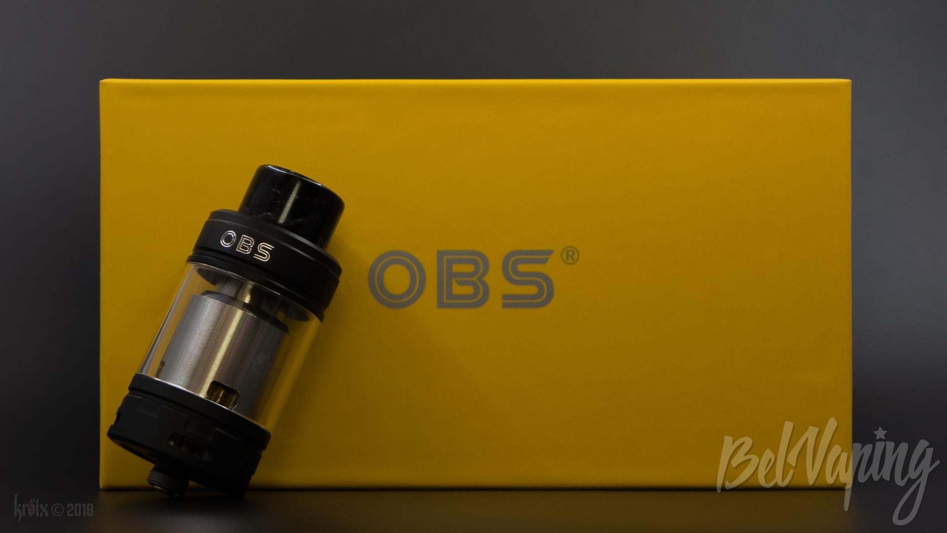 Обзор бака OBS Crius 2 RTA Dual Coil