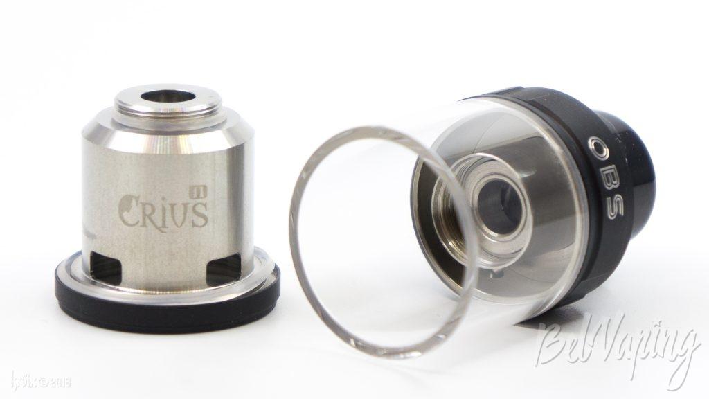 Купол и крышка OBS Crius 2 RTA Dual Coil