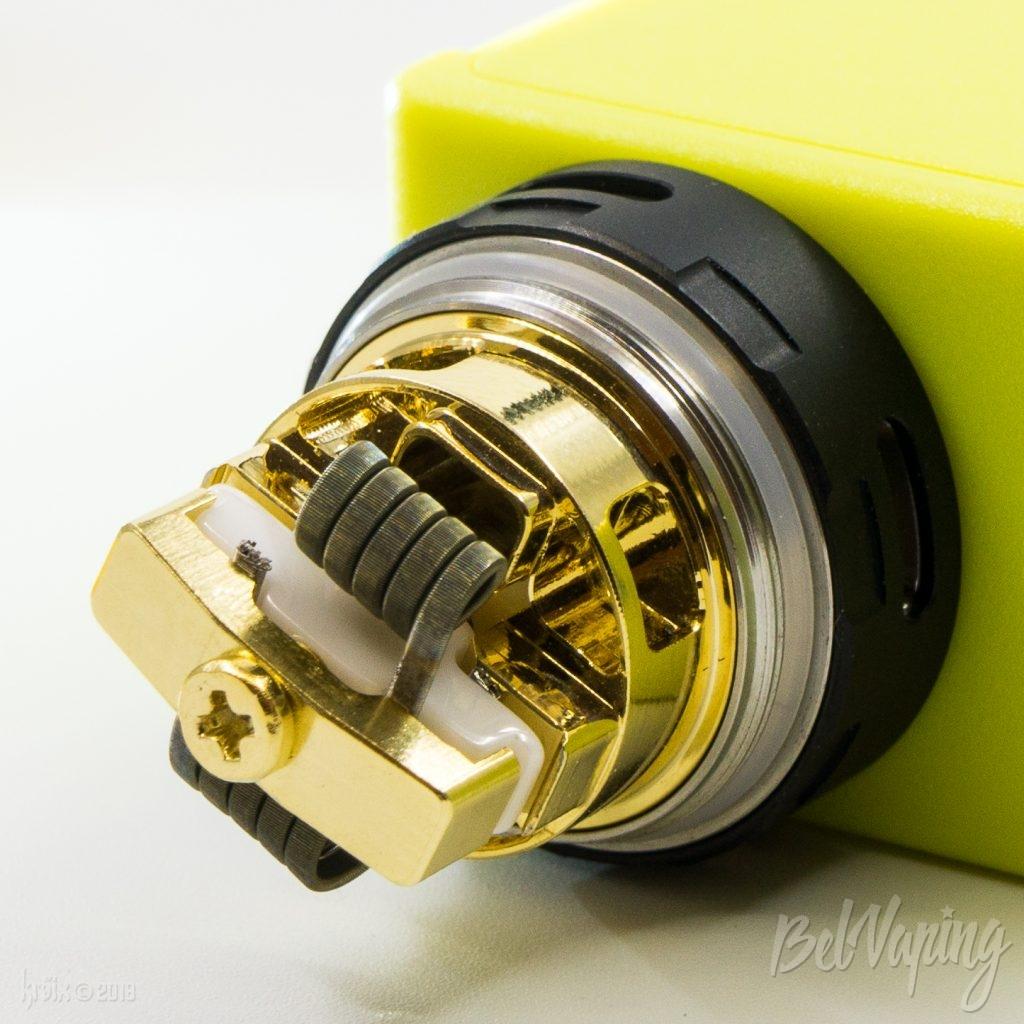 Установка спиралей OBS Crius 2 RTA Dual Coil