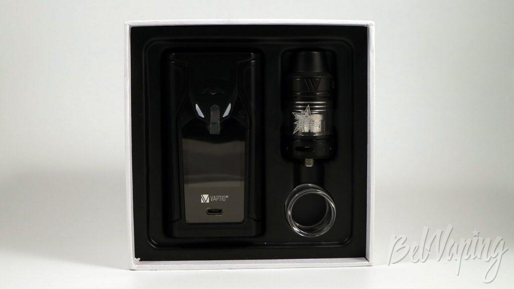 Vaptio SUPER BAT 220W KIT - что в коробке