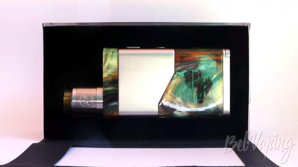 Wismec LUXOTIC NC и GUILLOTINE V2 RDA - что в коробке