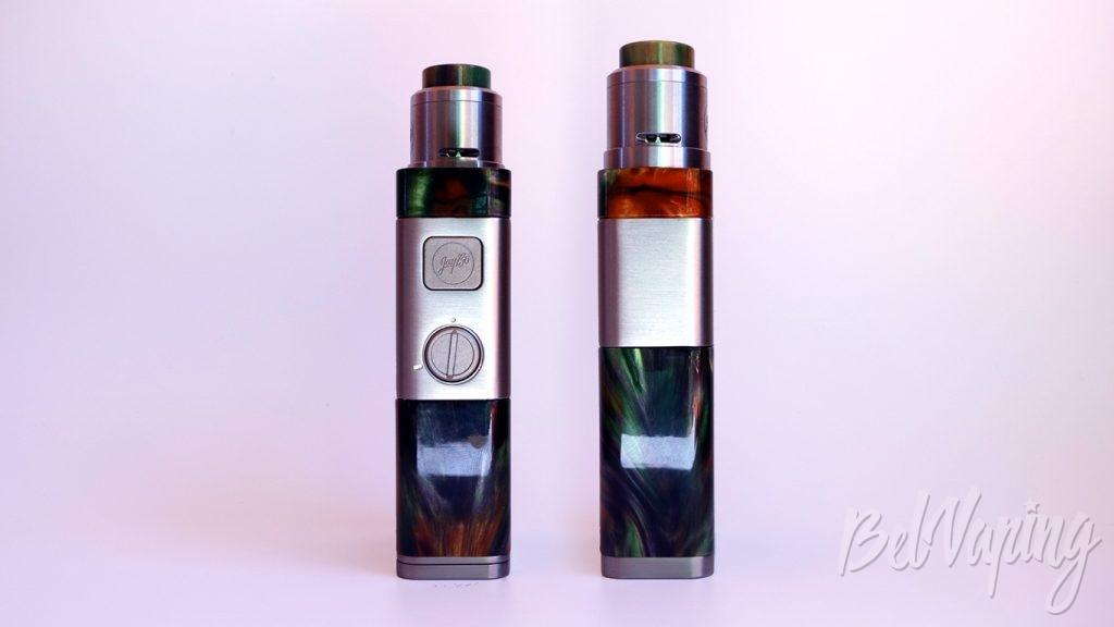 Wismec LUXOTIC NC и GUILLOTINE V2 RDA - внешний вид