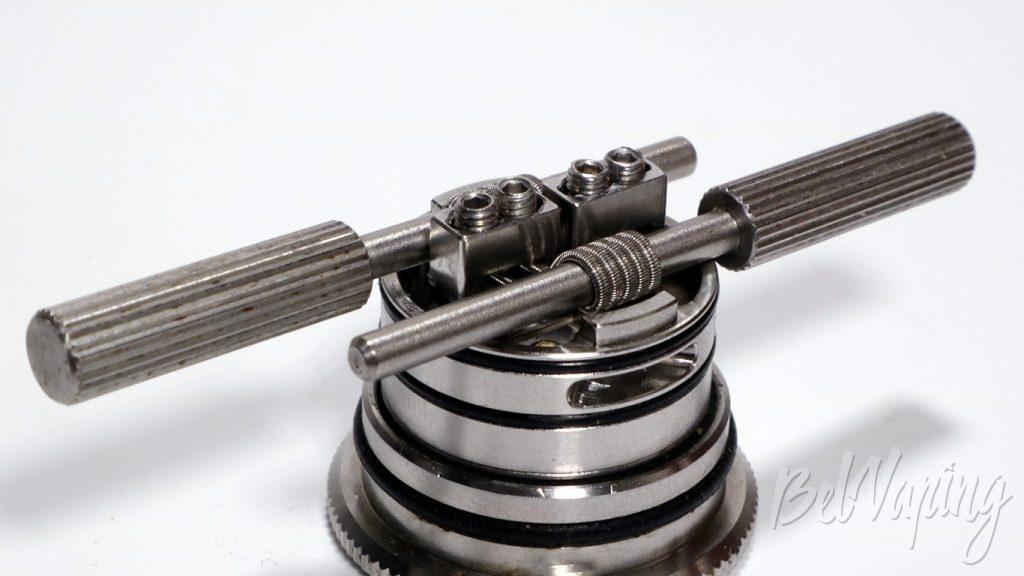 Wismec  GUILLOTINE V2 RDA - установка спиралей