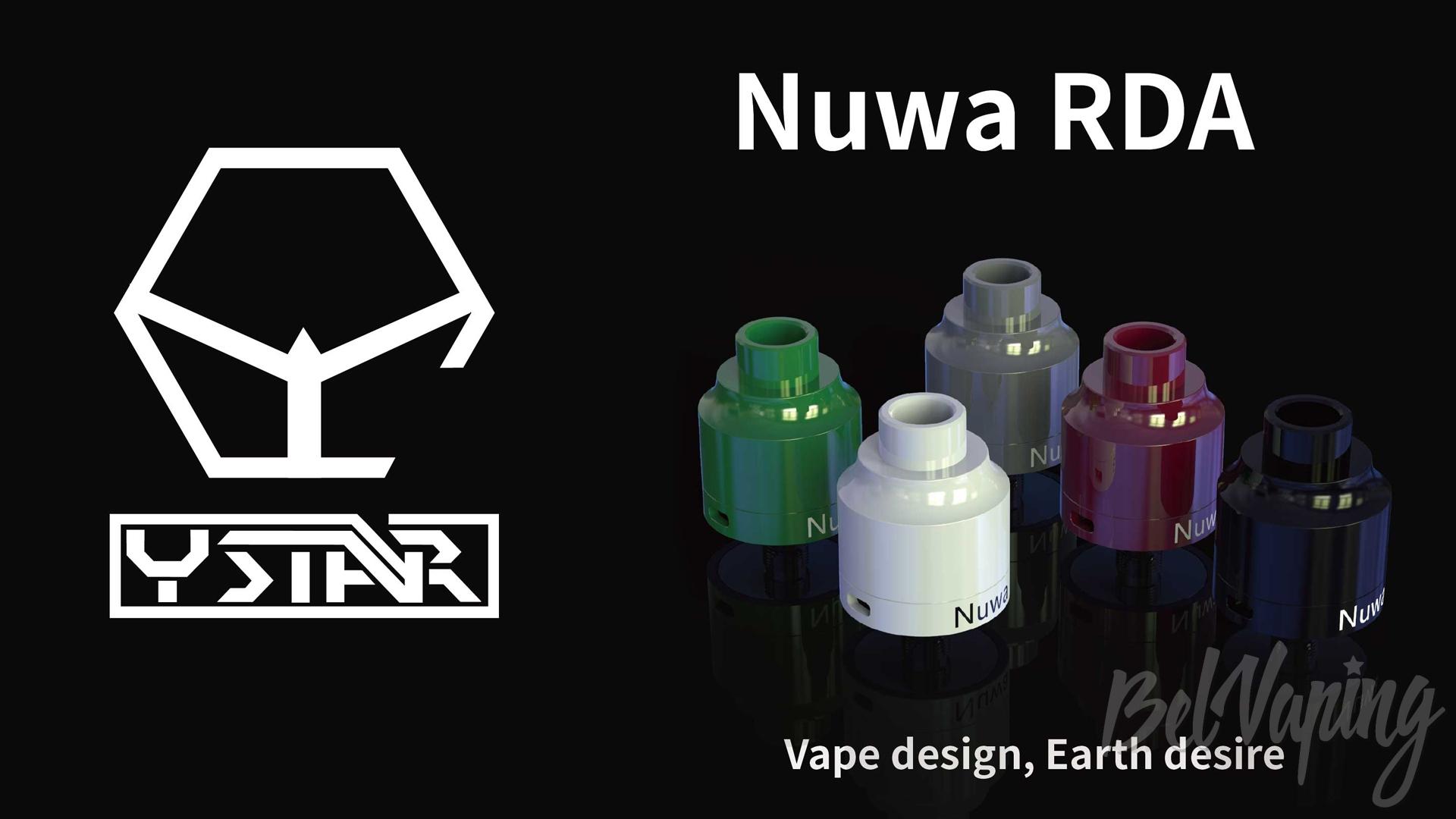 Ystar Nuwa Ceramic RDA. Первый взгляд