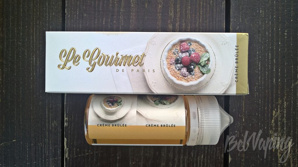 Жидкость LE GOURMET DE PARIS Creme Brulee
