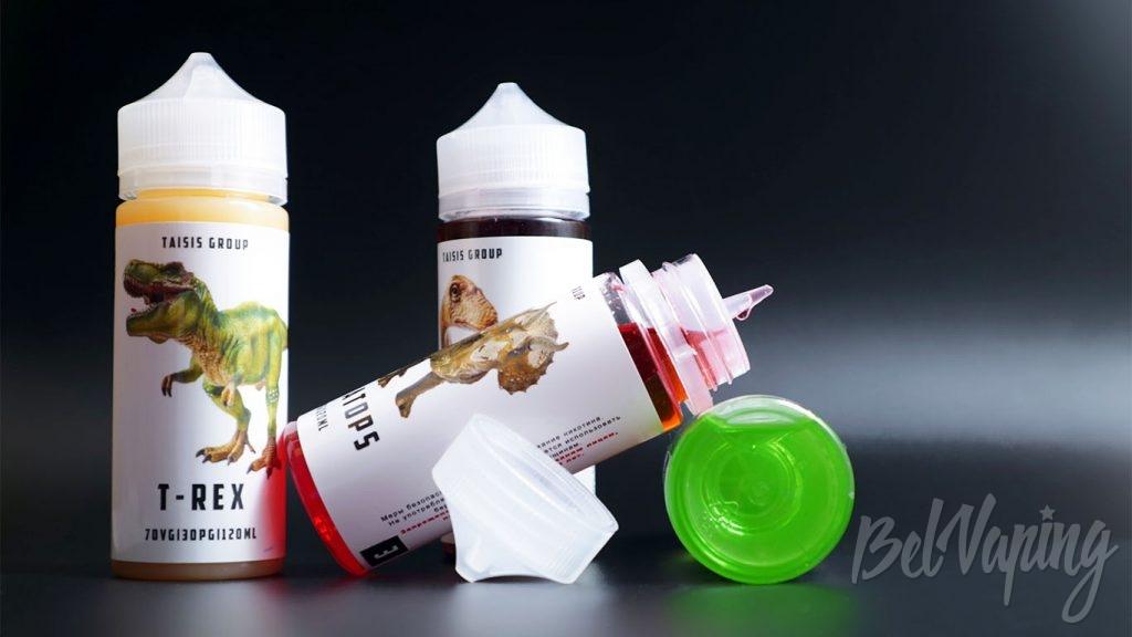 Жидкости Taisis Dino - упаковка
