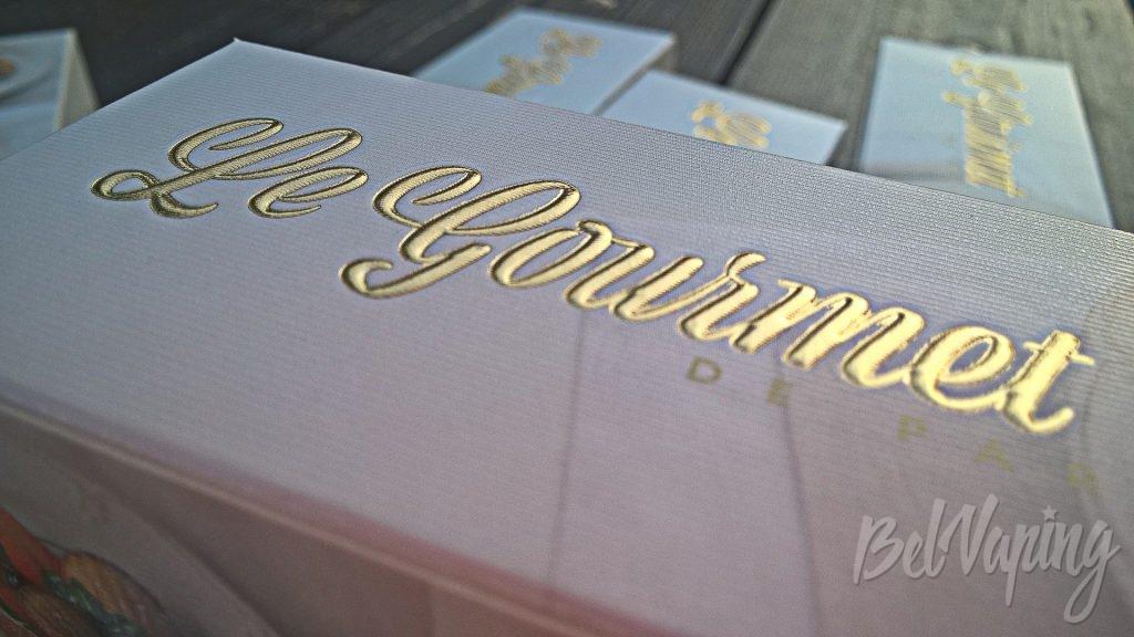 Структурная поверхность коробки Le Gourmet De Paris