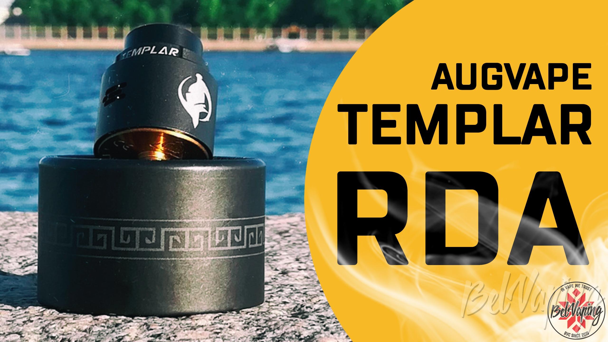 Обзор дрипки Augvape Templar RDA