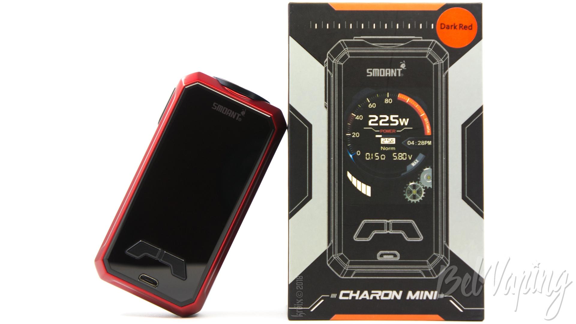 Обзор боксмода Smoant Charon Mini 225W