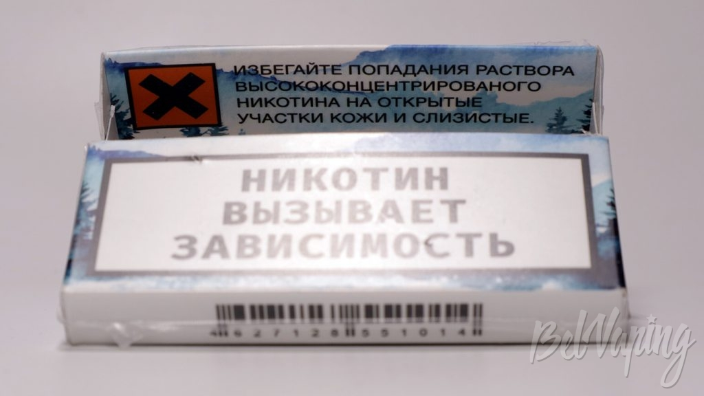 ESDN by NIC90 - сменные картриджи, предупреждения