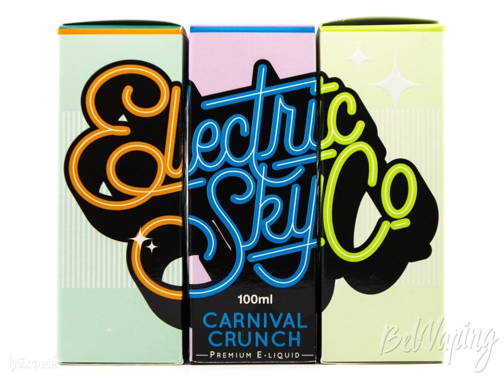 Упаковка жидкости Electric Sky Co.