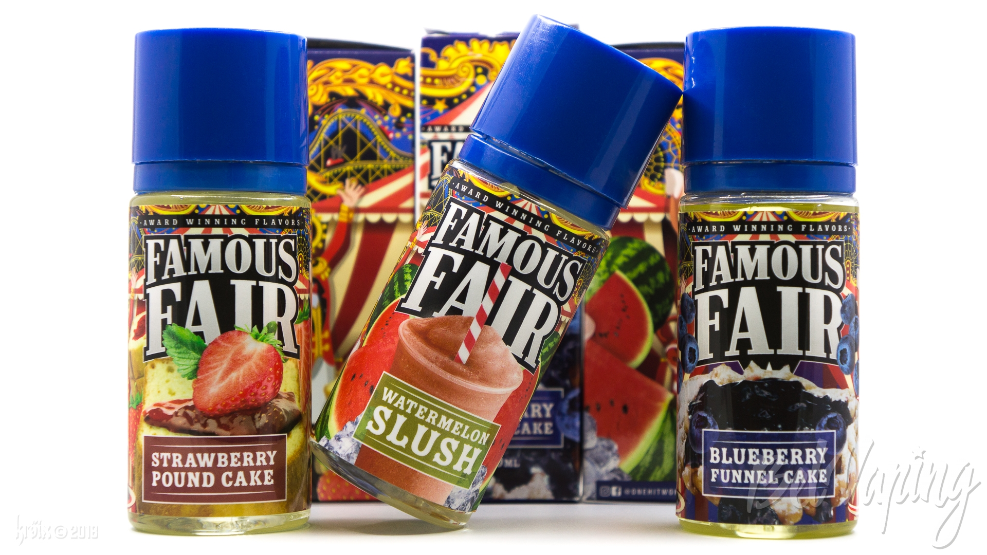 Обзор жидкости Famous Fair от One Hit Wonder