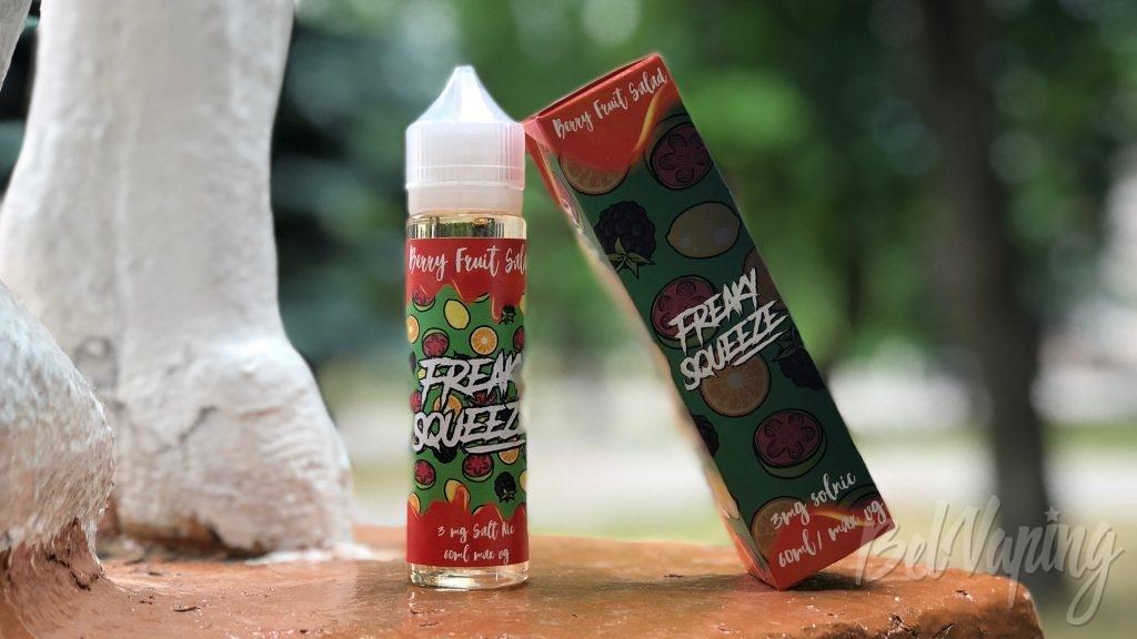 Жидкость Freak Squeeze - Berry Fruit Salad на солевом никотине