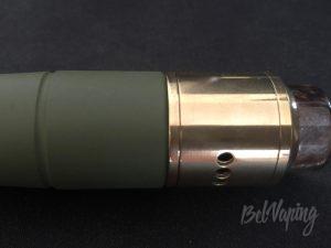Посадка атомайзера Goon RDA (24mm) на Hydra 1.5
