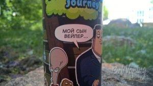 Этикетка жидкости Journey Thursday